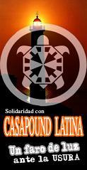 Contra el deshacio de CASAPOUND Latina (Roma)