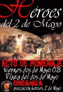 3 de mayo: Todos a Madrid